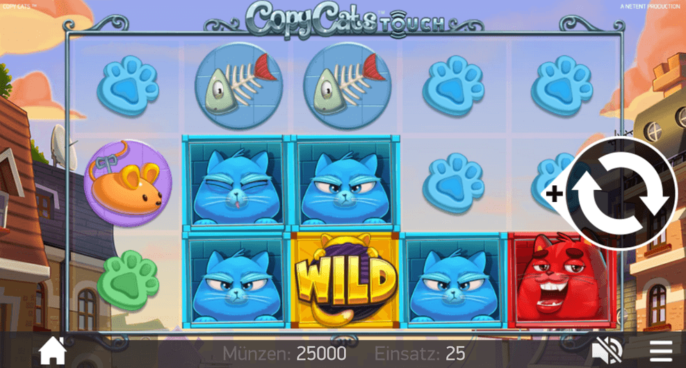 Copy Cats Slot mobil