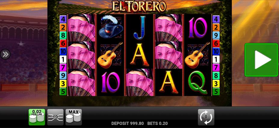 El Torero Slot mobil