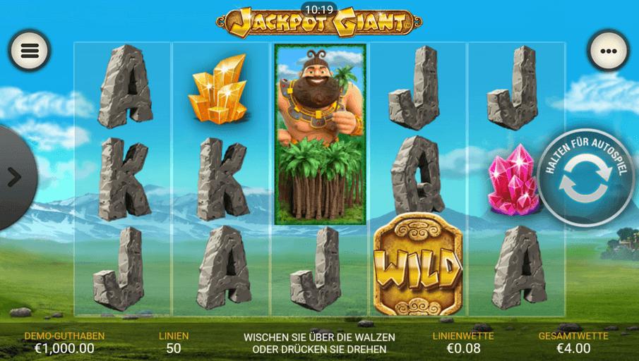 Jackpot Giant Slot mobil