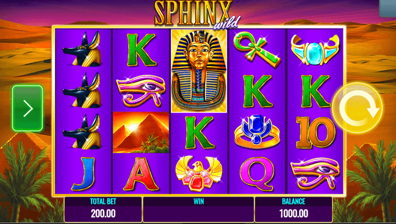 Sphinx Wild Slot mobil
