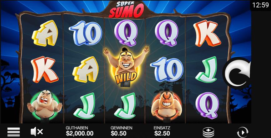Super Sumo Slot mobil