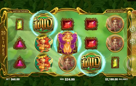 Goldwyn's Fairies Slot mobil
