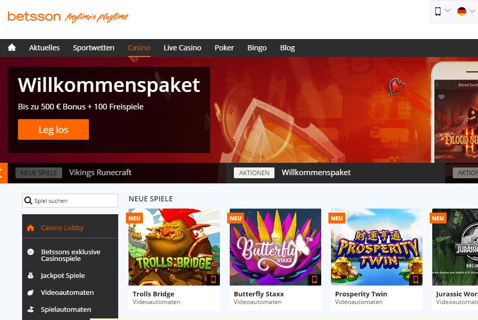 bestenliste online casino