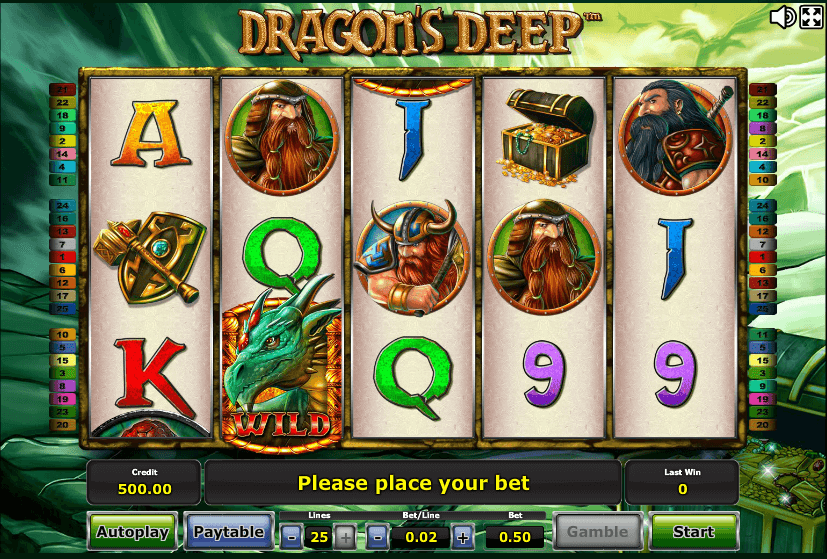 Dragons Deep Slot
