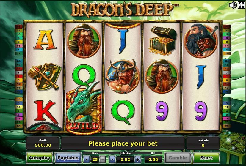 Dragons Deep Slot
