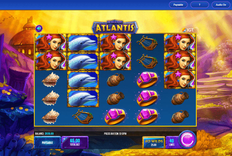 King of Atlantis Slot
