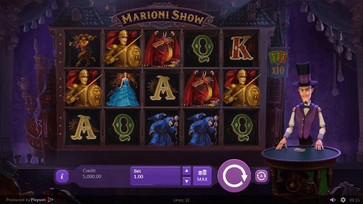 Marioni Show Slot