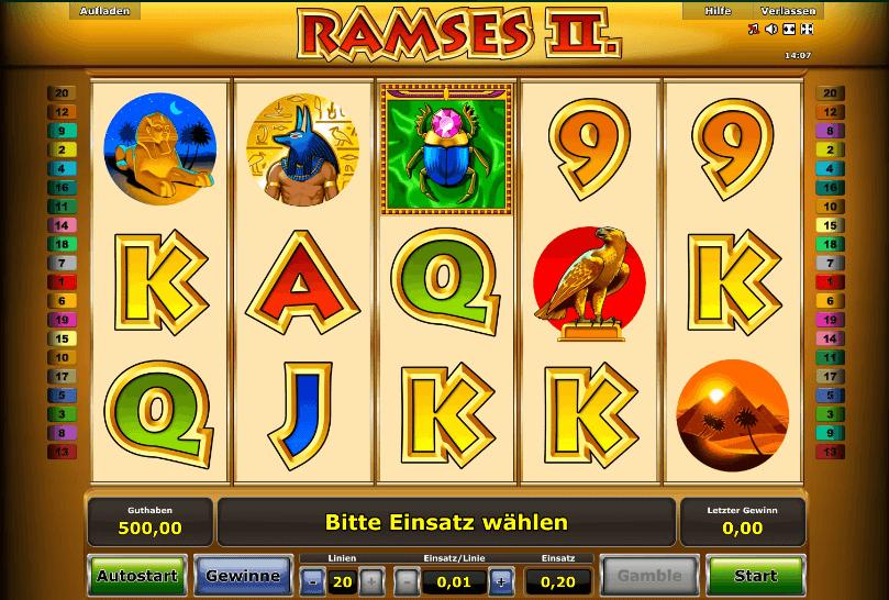 Ramses II. Slot