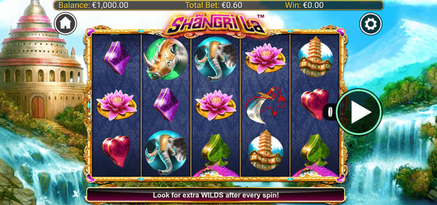 Shangri La Slot mobil