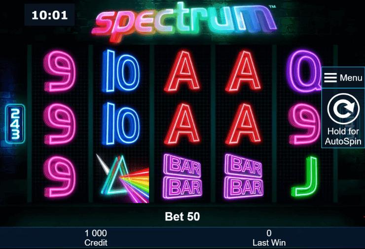 Spectrum Slot mobil