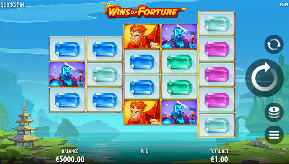 Wins of Fortune Slot mobil