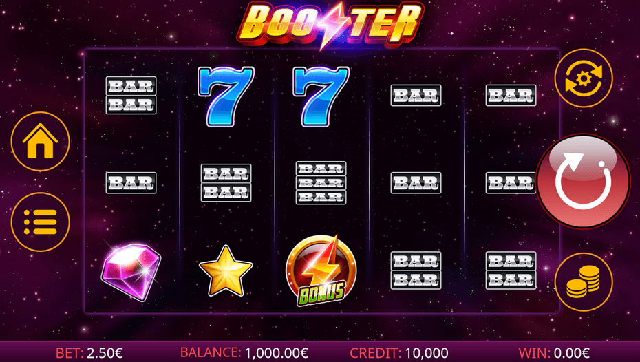 Booster Slot mobil
