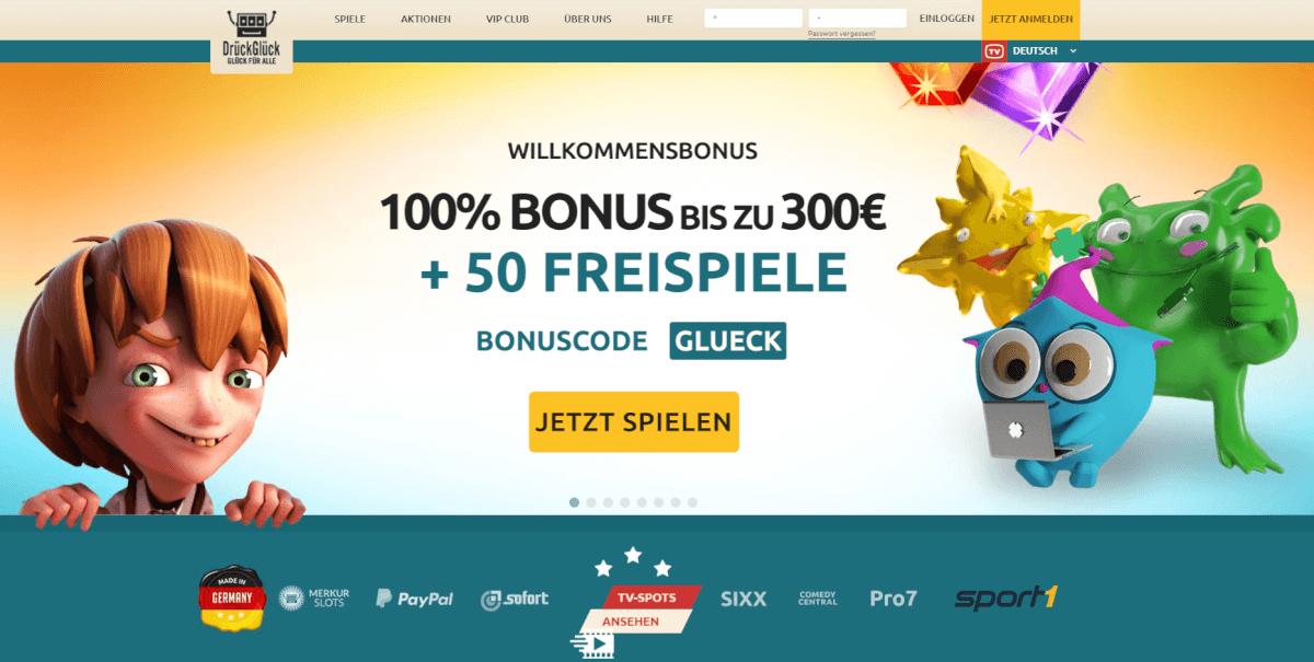 DrückGlück Bonus 2017