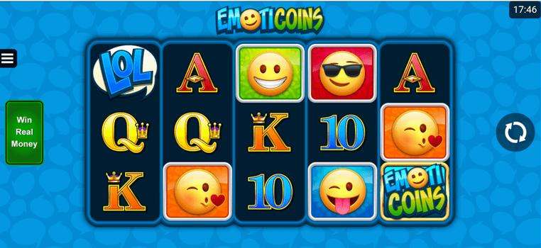 Emoticoins Slot mobil