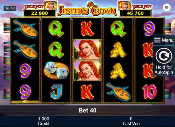Jesters Crown Slot mobil