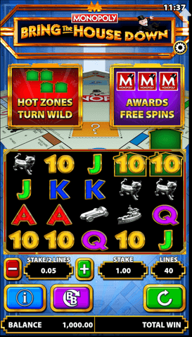 Monopoly Slot mobil