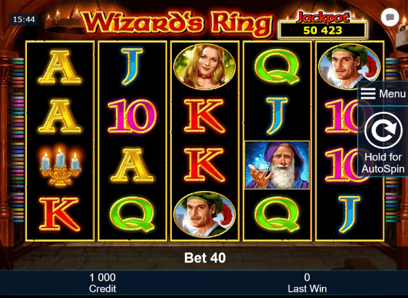 Wizards Ring Slot mobil