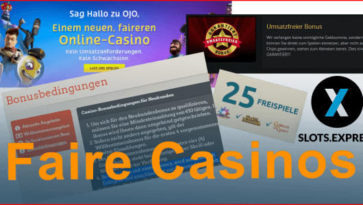 faire casinos