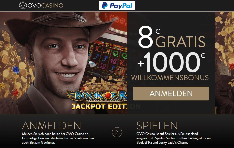 ovo casino 8 euro