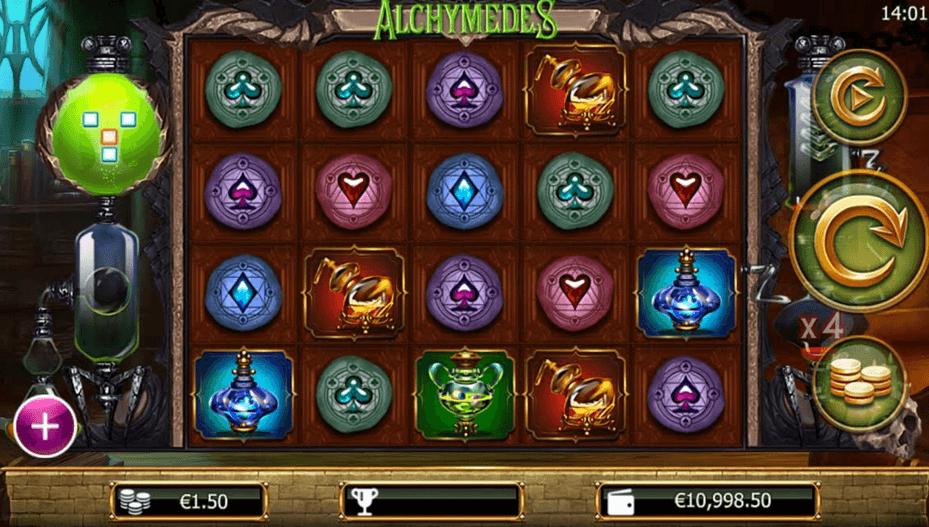 Alchymedes Slot mobil