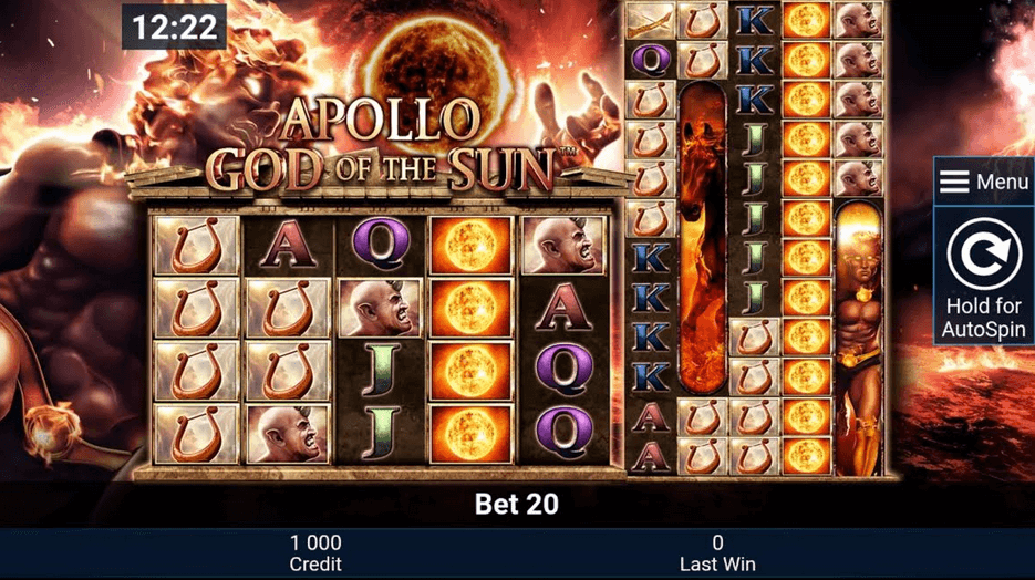 Apollo God Of The Sun Slot mobil