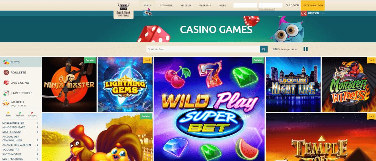 slot-spiele im drückglück roulette online kostenlos high roller