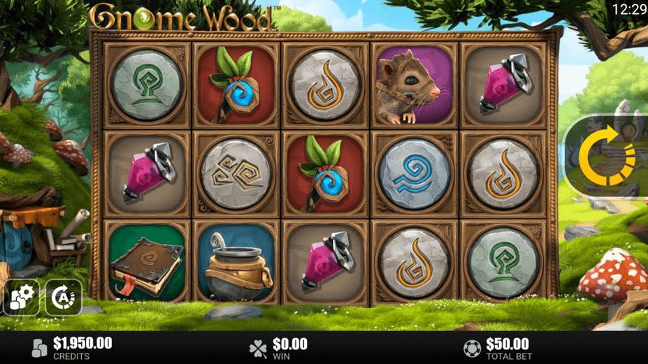 Gnome Wood Slot mobil