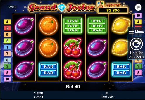 Spiele Grand Jester - Video Slots Online
