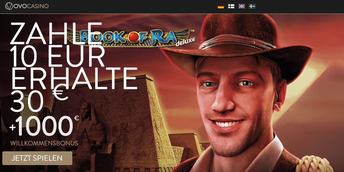 Ovo Casino neuer Bonus