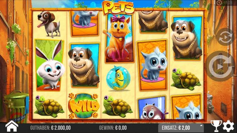 Pets Slot mobil