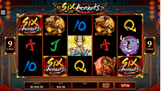Six Acrobats Slot