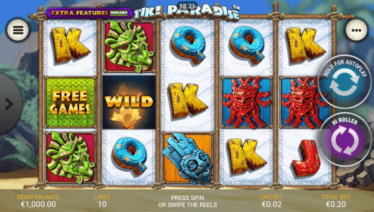 Tiki Paradise Slot mobil