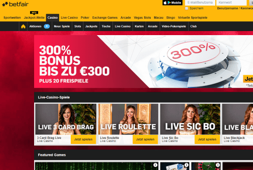 betfair Live Casino 994