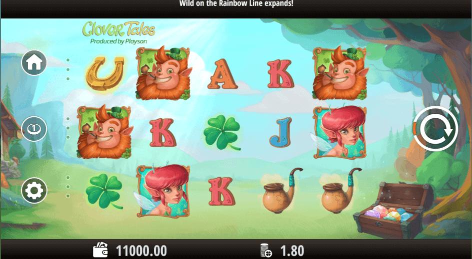 Clover Tales Slot mobil
