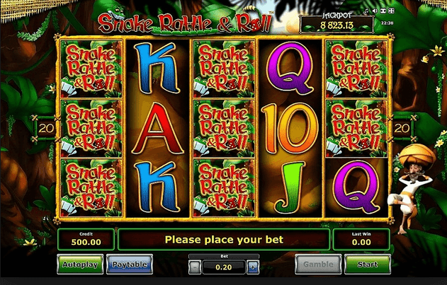 Snake Rattle & Roll Slot