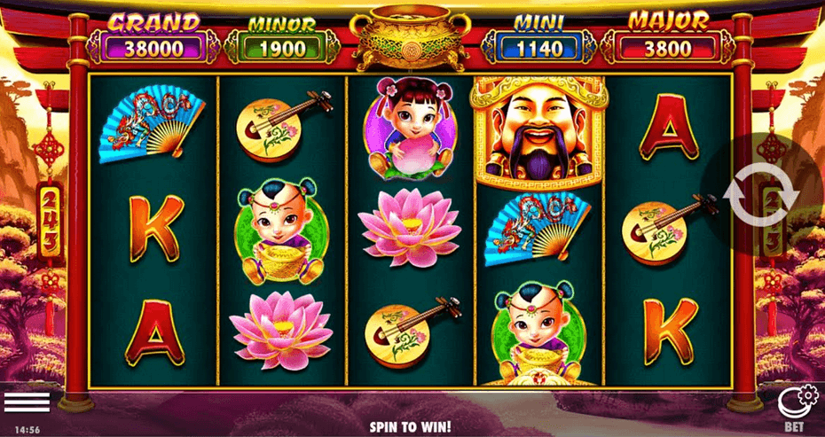 Caishens Gold Slot mobil