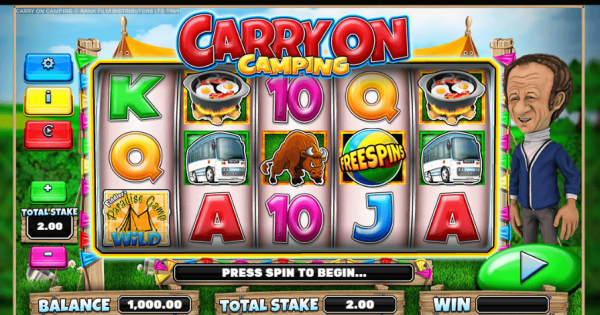 Spiele Carry On Camping - Video Slots Online