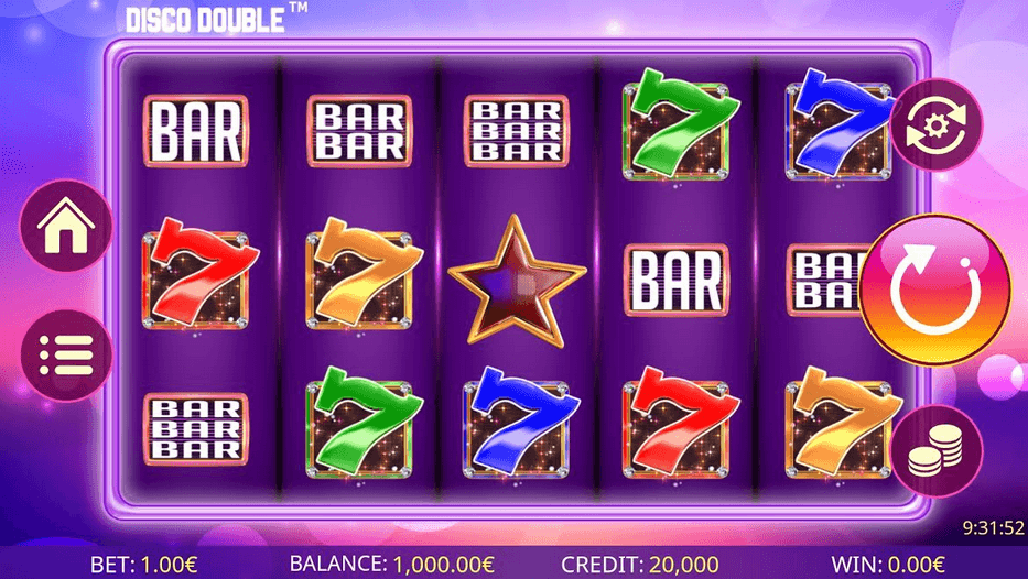 Disco Double Slot mobil