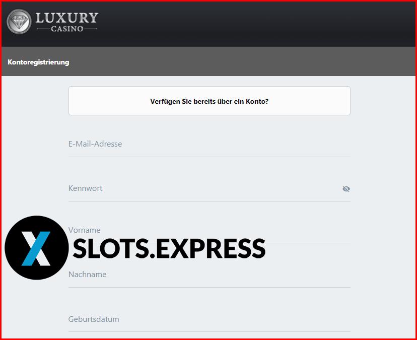 Luxurycasino Anmeldung