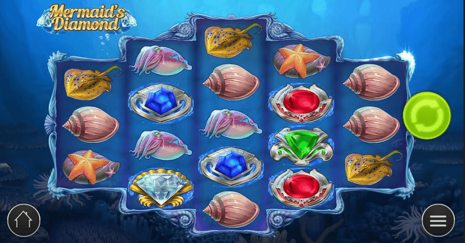 Mermaid's Diamond Slot mobil