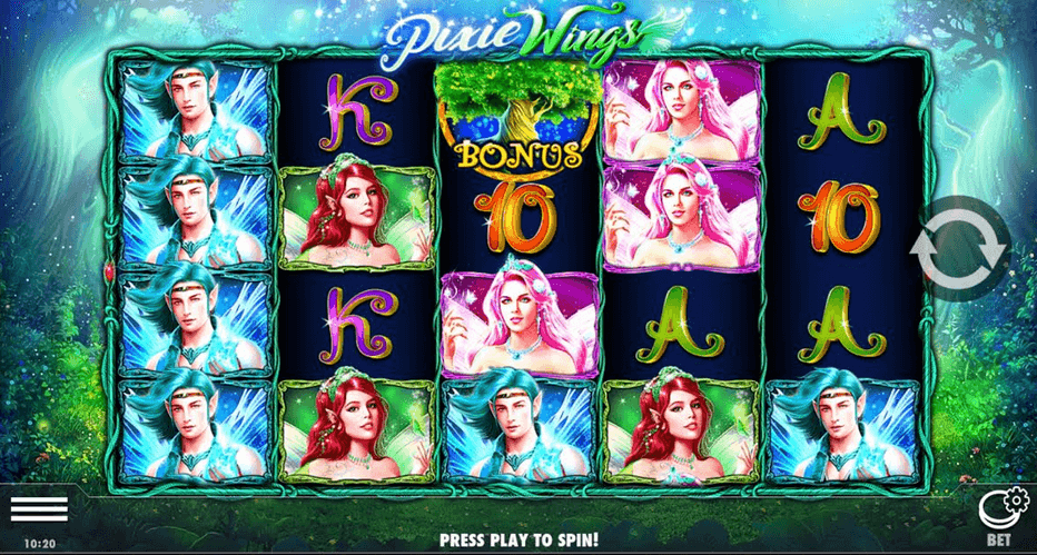 Pixie Wings Slot mobil