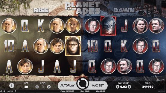 Planet der Affen Slot