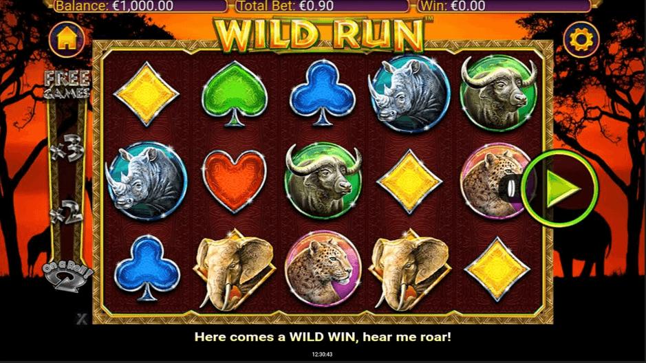 Wild Run Slot mobil