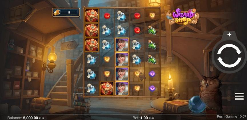 Wizard Shop Slot mobil