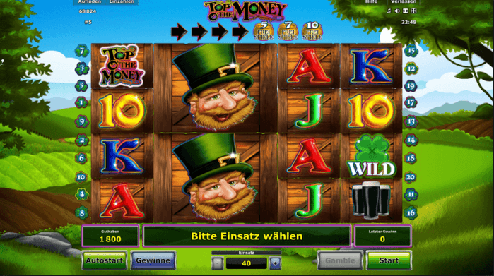 Top O'The Money Slot