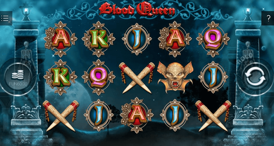 Blood Queen Slot mobil