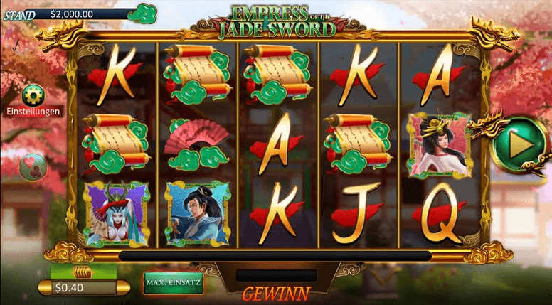 Empress of the Jade Sword Slot mobil