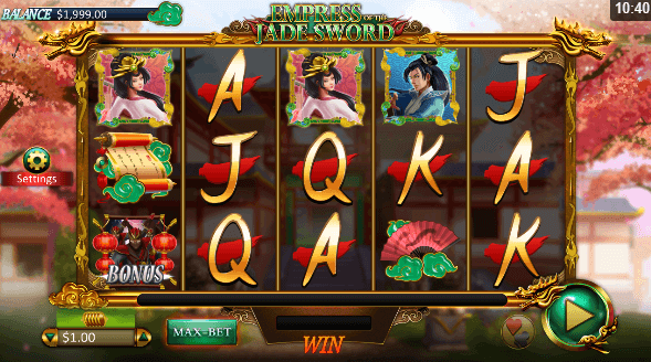Empress of the Jade Sword Slot