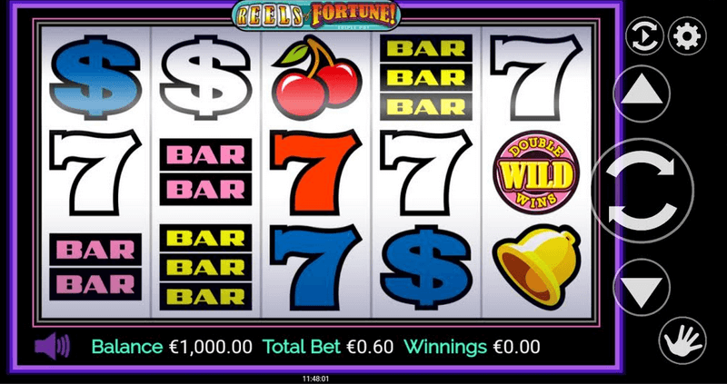 Reels of Fortune Triple Pay Slot
