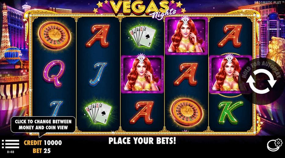 Vegas Nights Slot mobil